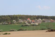Pohled naBučiny foto:Věra Šrédlová